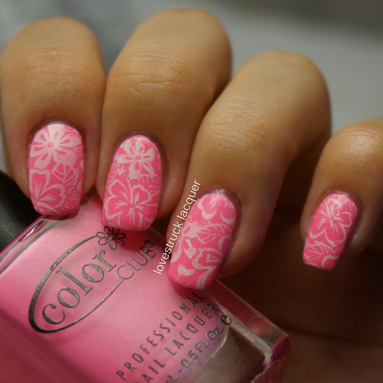 ... Roxy Inspired Nails for Nail Polish Canada's Summer Nail Art Challenge