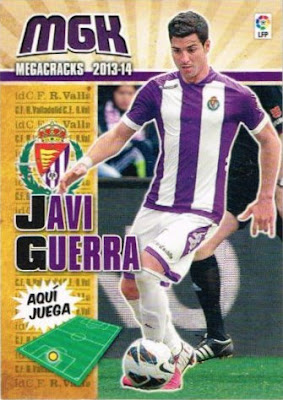 N°002 ESTEBAN ANDRES SUAREZ # ESPANA UD.ALMERIA CARD PANINI MGK LIGA 2014