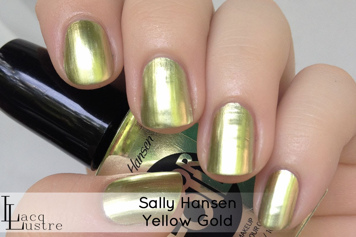 Sally Hansen Yellow Gold swatch
