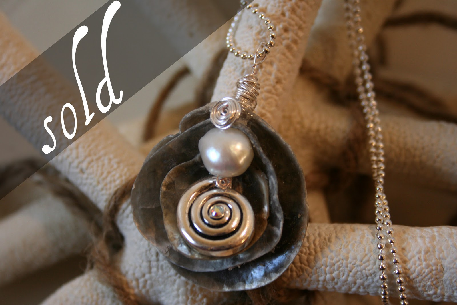 Diy Shell Necklaces Shell Jewelry
