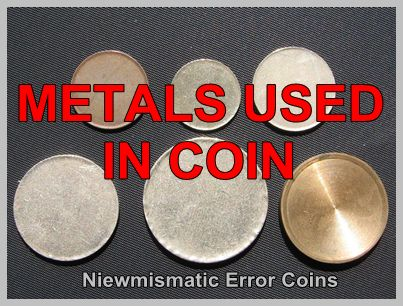 Different Metals That Were Used To Make Coin Coinage Metals