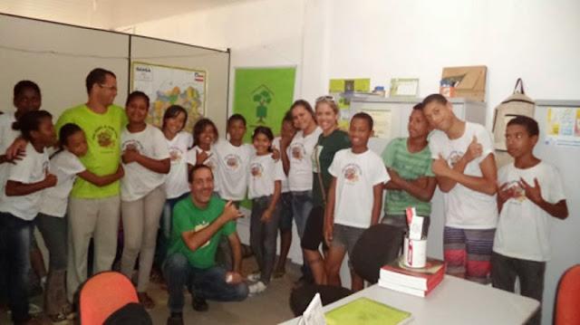 Sala Verde desenvolve projeto Aulas Verdes - Turismo na Escola com alunos da rede municipal.