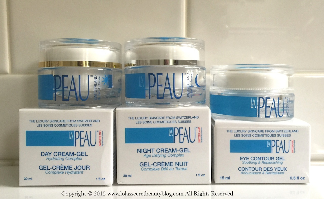 Lola 39 s secret beauty blog la peau skincare day cream gel for La cabine skincare