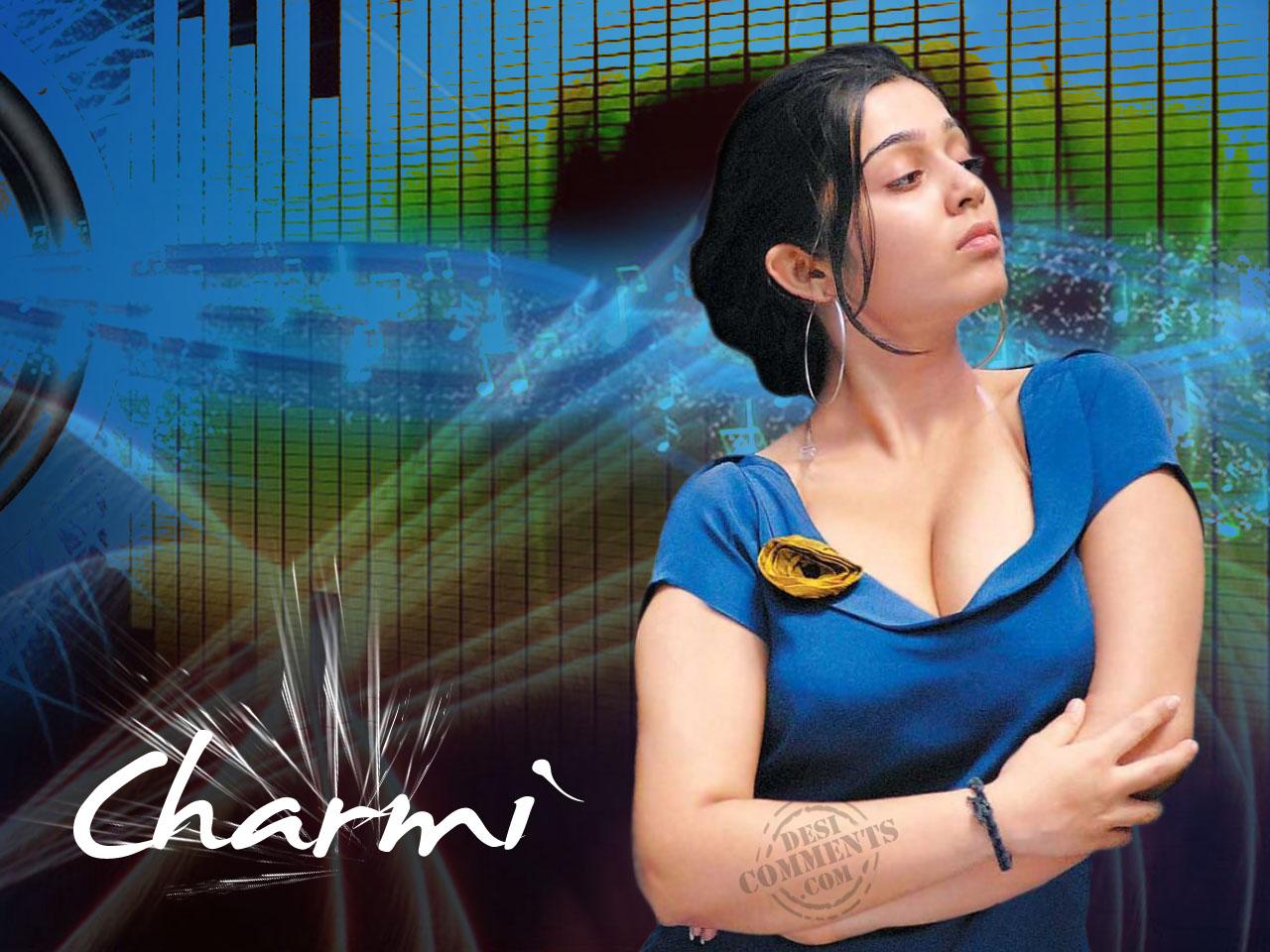 CINECORNER: Telugu Actress Charmi Wallpapers