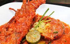 Resep praktis (mudah) lobster saus padang spesial (istimewa) enak, gurih, lezat