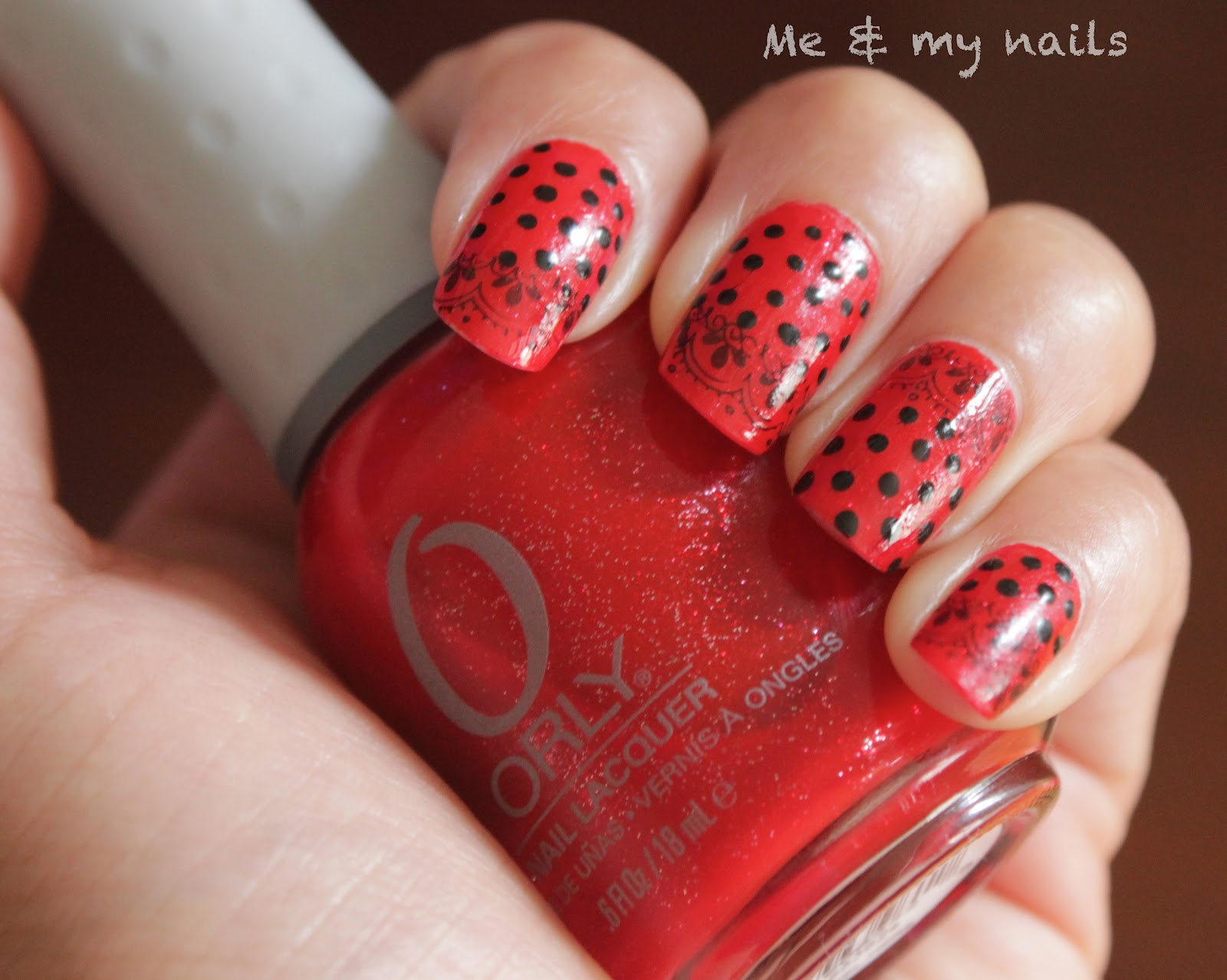 The Glamorous Dark red nail designs Image
