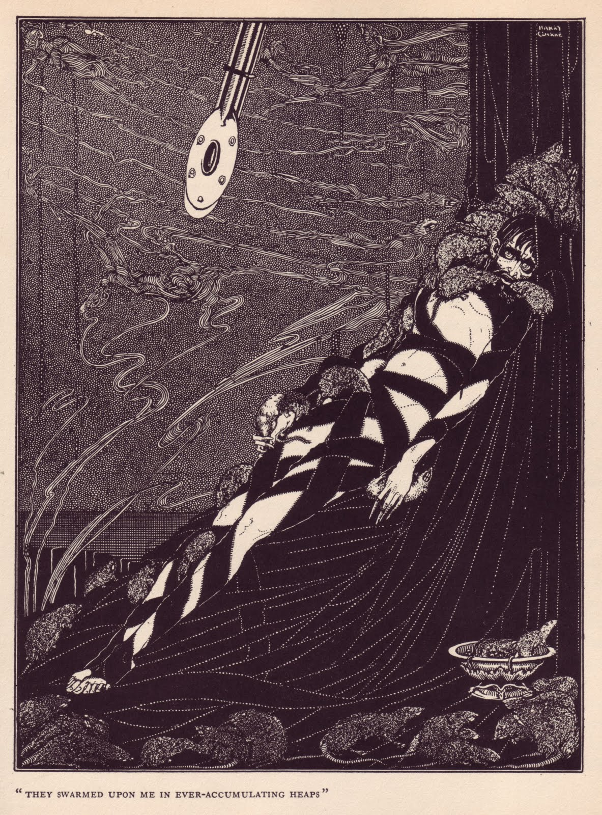 The Pit and the Pendulum (Harry Clarke)