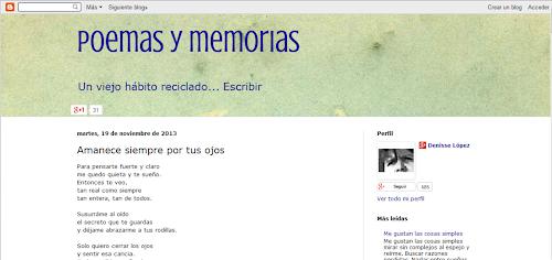 Poemas y memorias