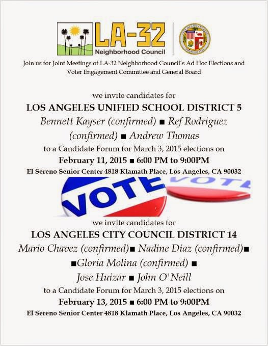 A District 5 LAUSD debate forum not ruled by Eli Broad's United Way Greater Los Angeles PR firm