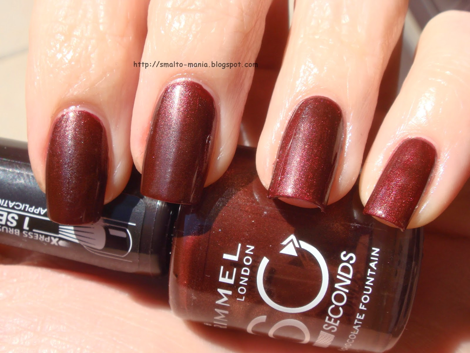 Rimmel 60 Seconds n.540 Chocolate Fountain