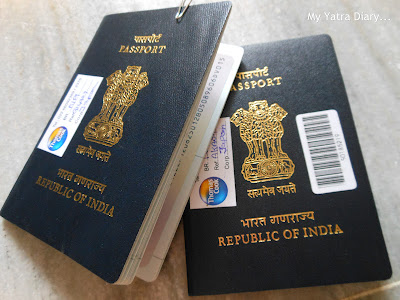 Stamped Indian Passports