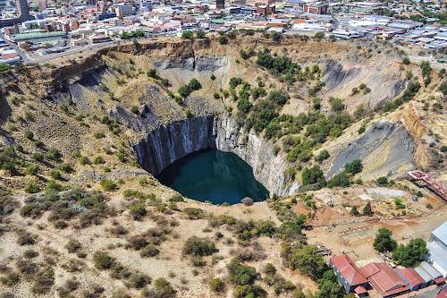 Mina de Diamantes de Kimberley – África do Sul