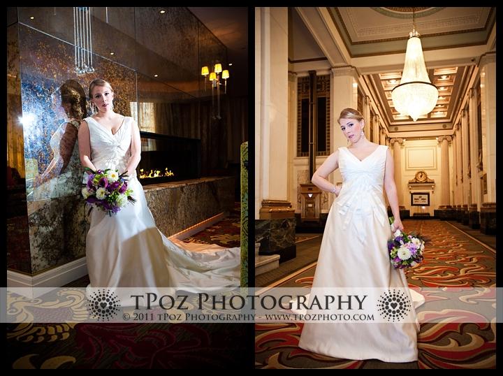 Hotel Monaco Baltimore Wedding Bride Photo