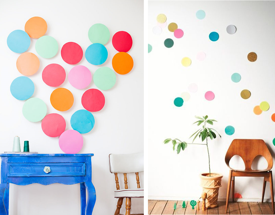 8 ideas low cost para decorar las paredes decoraci n - Ideas para pintar paredes ...