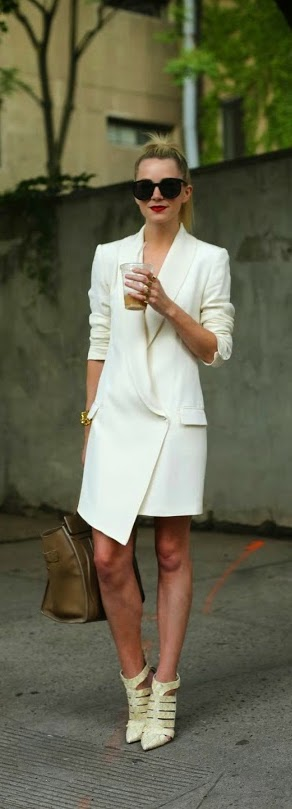 Classic Coat Dress with Leather Bag and Chic Heels | Spring Outfits