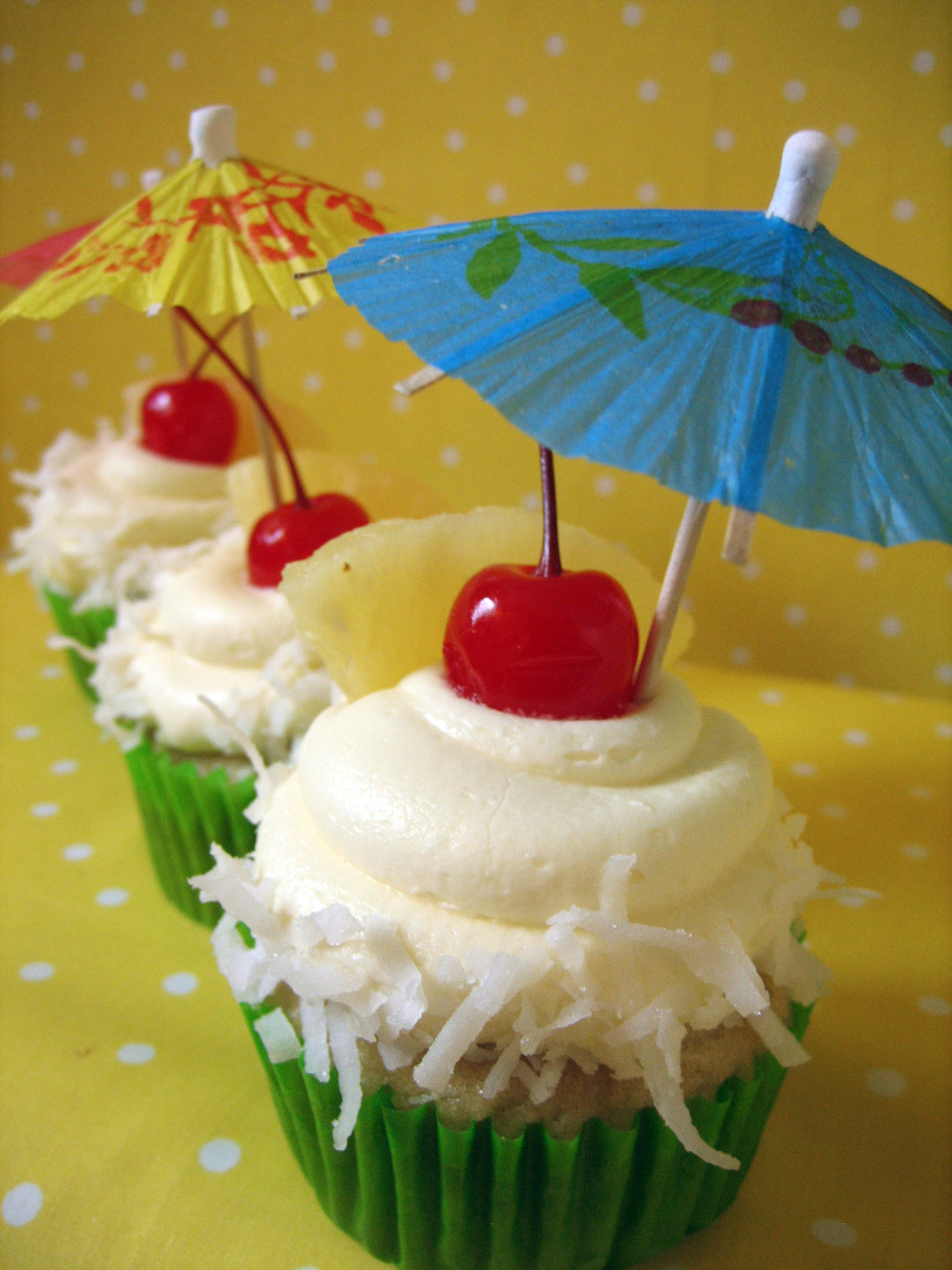 Sweet Elites Vegan Cupcakes: if you like pina coladas and getting ...