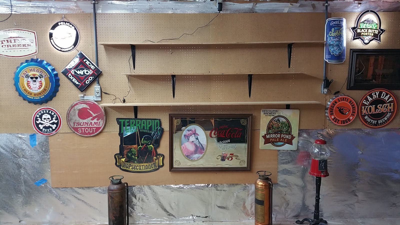 99 bottles of beer on my wall?? Man cave blog.
