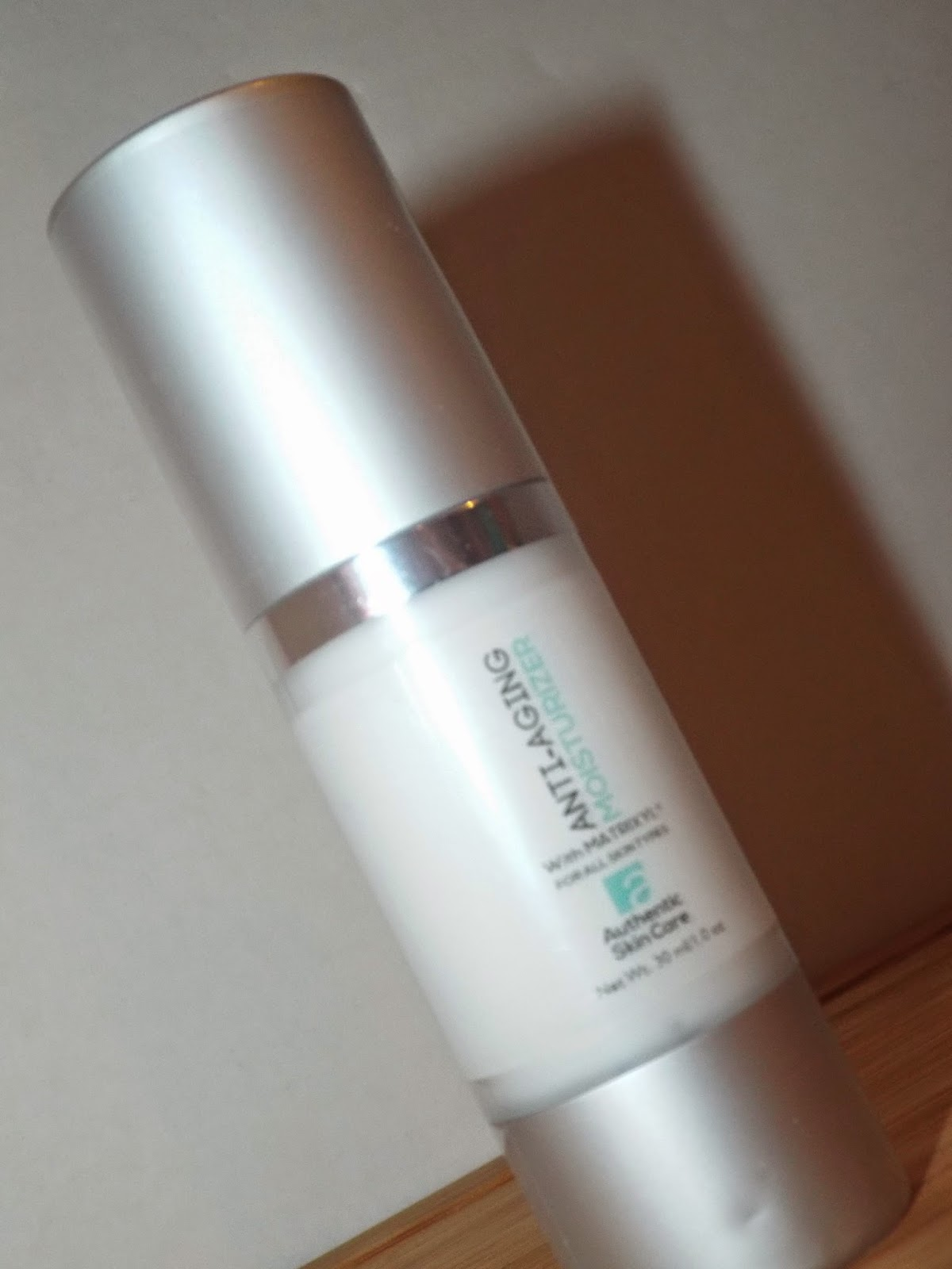 Authentic Skincare: Anti-Aging Moisturizer