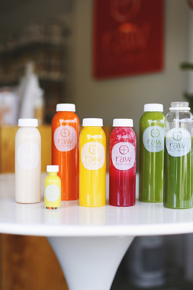 how I survived my first juice cleanse