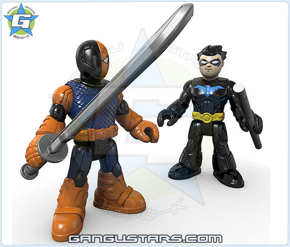Imaginext DC Super Friends Slade & Nightwing