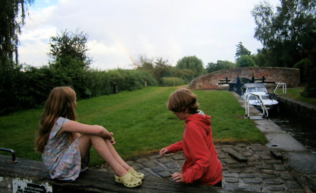 children at lock canal british countryshide childhood activities