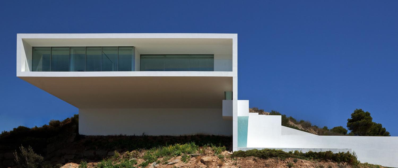 A f a s i a fran silvestre arquitectos for Casa moderna alicante