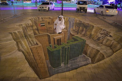 3D Street Paintings Seen On www.coolpicturegallery.us