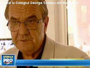 """Prof. Cojocaru de romana. 69 ani. Aranjeaza şpăgi şi achiziţii trucate, concubinul  """"dnei. Clarisa"""""""