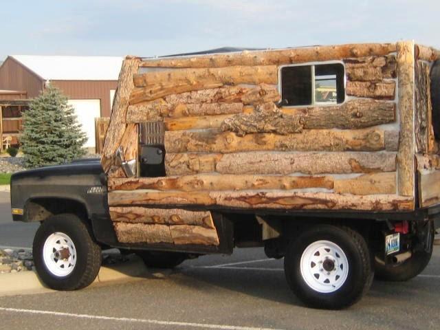 Log Cabin Camper