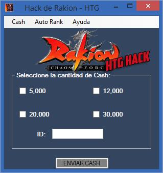 cash hack rakion imagen