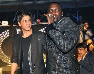 Akon Shah Rukh Khan