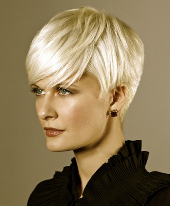 Short Blonde Hairstyles for Fine Hair Women