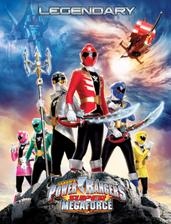 Power Rangers MegaForce 2013