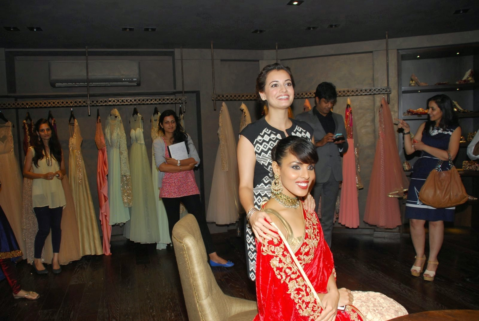 Dia Mirza at Shyamal Bhumika's store launch