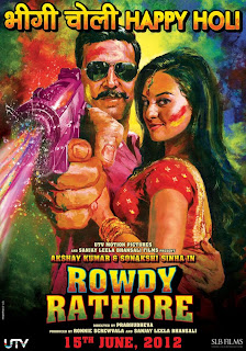 Rowdy Rathore 2012 Movie,Poster