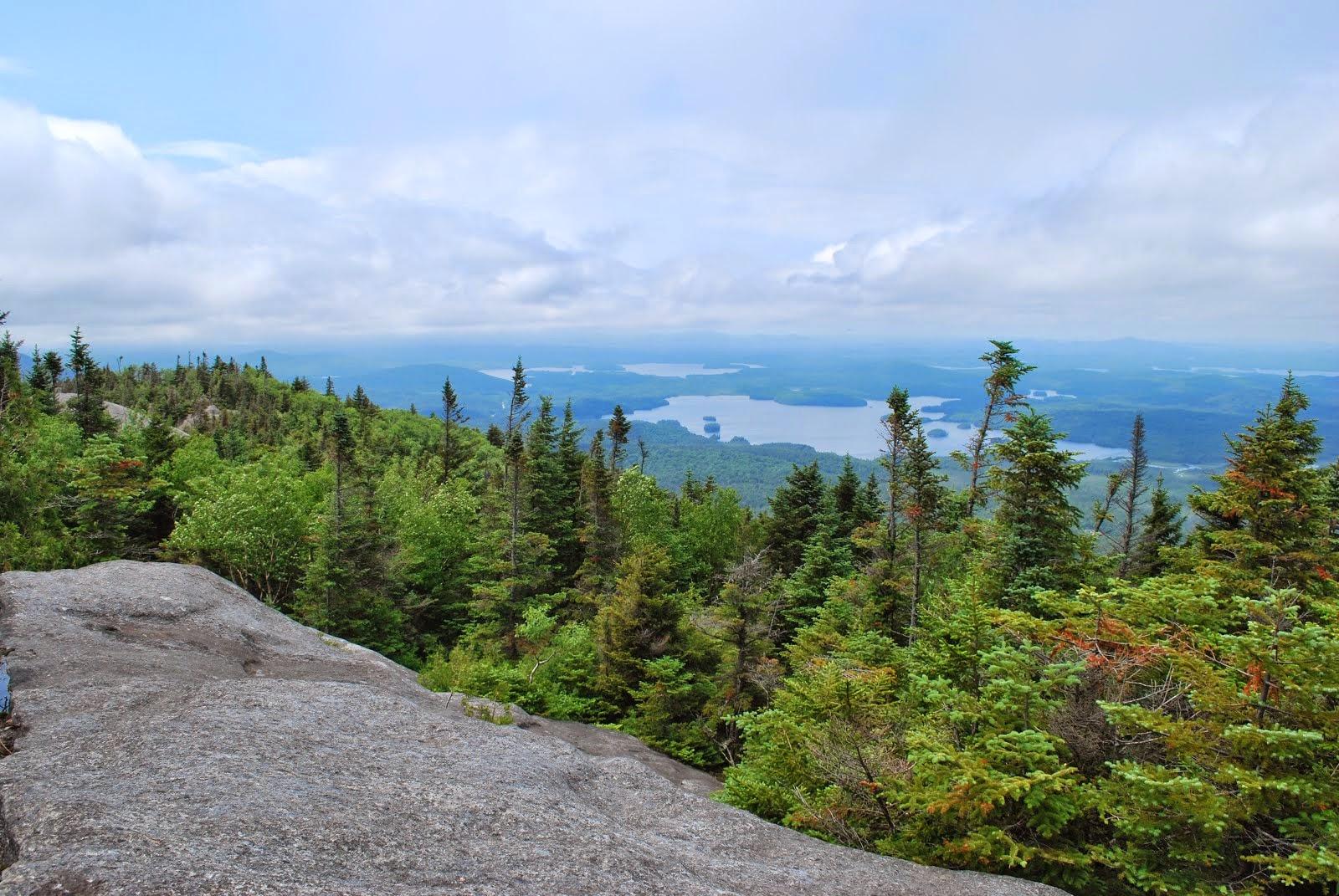 Summit of Ampersand Mountain