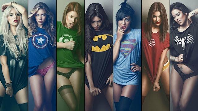 La liga de superheroínas más poderosas - www.rjgm.net
