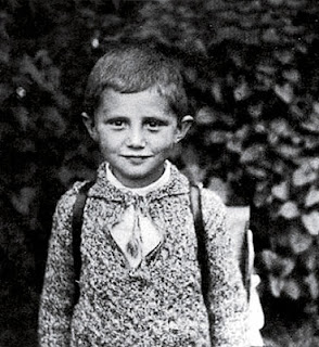 joseph_ratzinger-as-a-kid - Who Says The World No Longer Has Superheroes? - Anonymous Diary Blog