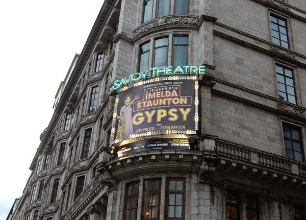 Imelda Staunton Gypsy Musical Savoy Theatre London