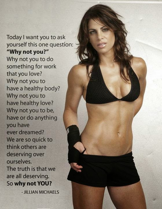 why not you, beacbody coach, fitness motivation, positivity, jillian michaels