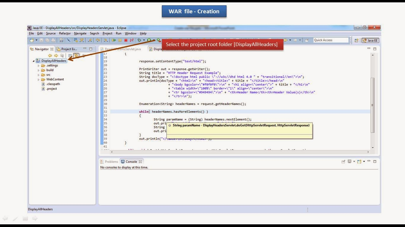 eclipse how to create war file