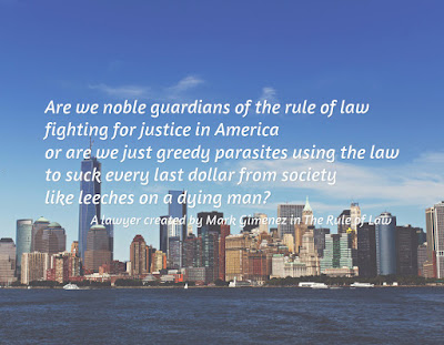 Review of the Color of Law by Mark Gimenez
