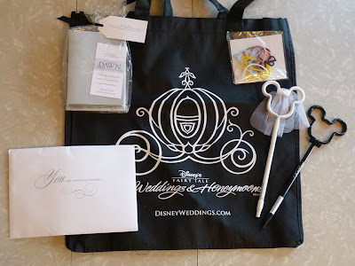 Blogiversary Giveaway #1 - Disney's Fairy Tale Weddings Goodie Bag from Disney Wedding Podcast