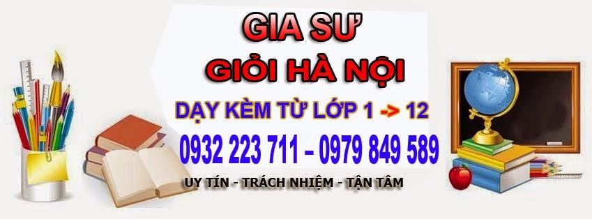 GIA SƯ KHU VỰC HOÀNG MAI