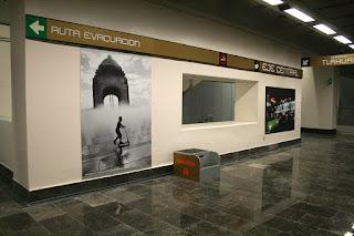 Exposición fotográfica en la Línea 12 del STC Metro