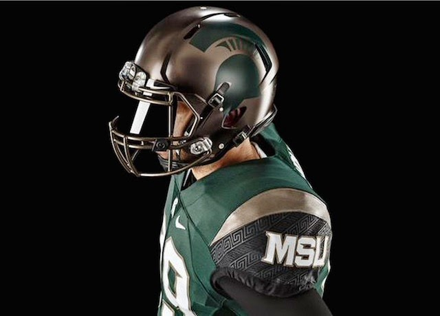 Michigan State 2015 uniforms unveiled.