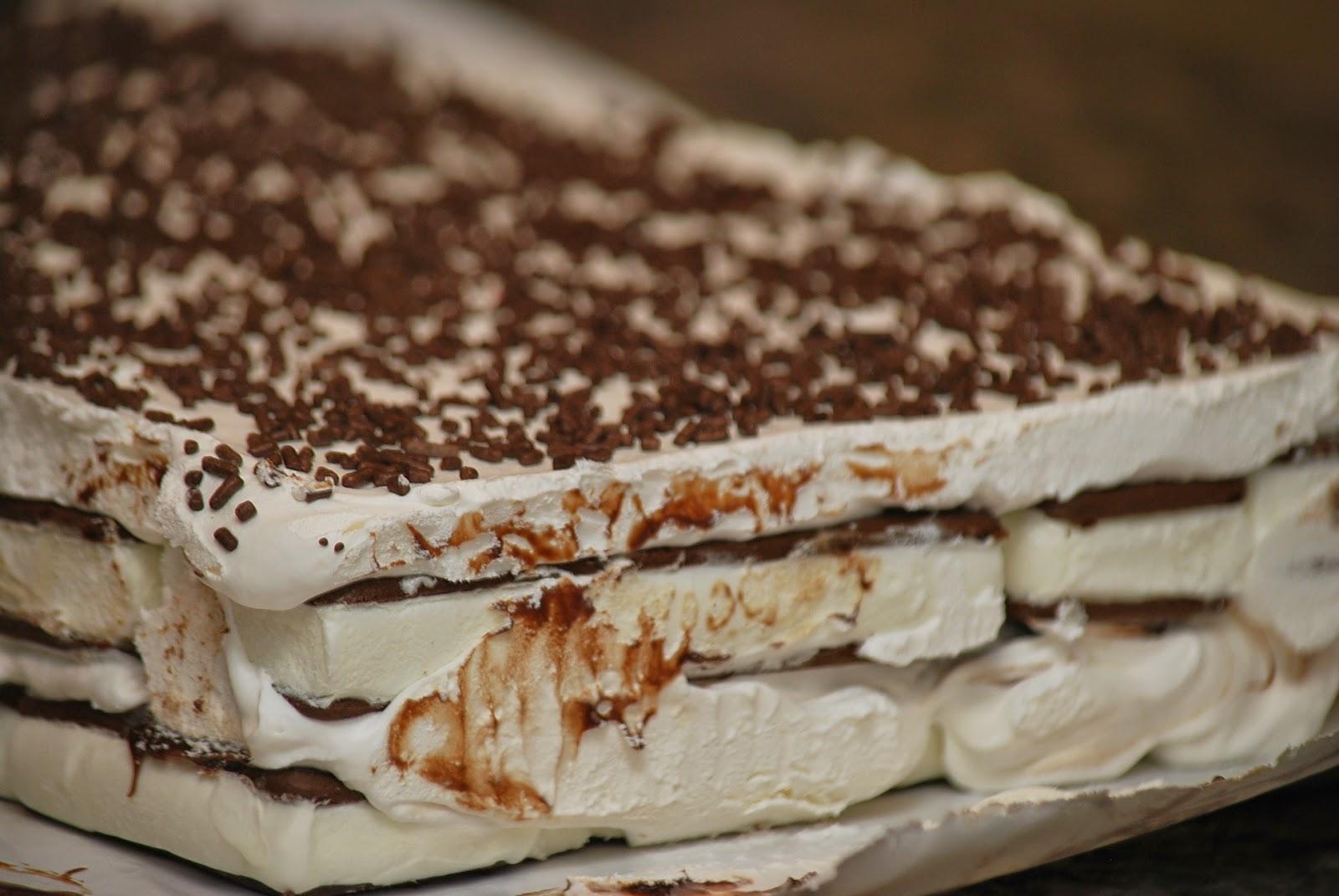 how to make ice cream cake with ice cream sandwiches