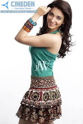 Tamannaah Bhatia Sexy Hot Photoshoot Stills on JFW Magazine 2011