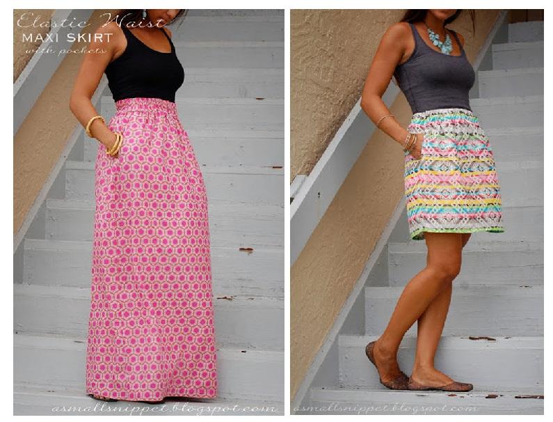 Couture facile diy summer jupe free tuto bettinael for A couture facile