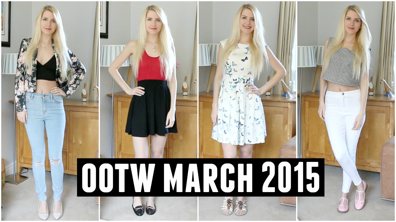 Outfits of the Week: (OOTW) March 2015